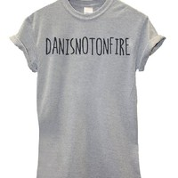 Danisnotonfire Mens & Ladies Funny Slogan Unisex Fit T-Shirt [Apparel]