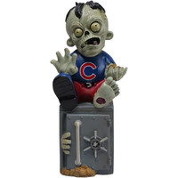 Chicago Cubs Zombie Figurine Bank