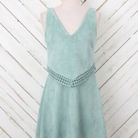 Altar'd State Show-Stopping Suede Dress | Altar'd State
