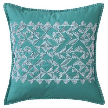 Threshold™ Embroidered Pillow
