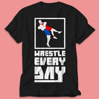 Wrestle every day Wrestling Sport Festival - Shirt  - Multi Size Color