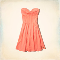 Swami's Beach Knit Skater Dress