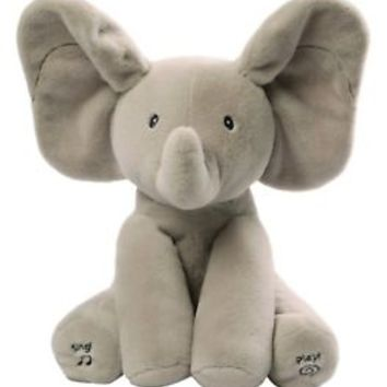 Gund Baby Animated Flappy The Elephant Plush Toy, baby fun toy Play Hide Seek
