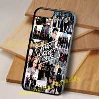 Why Don't We Band Collage iPhone 5 5s 6 6s 7 8 X Plus Hard Plastic Case
