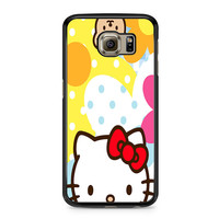 Hello Kity Patterns Samsung Galaxy S6 Case