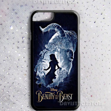 Limited Edition Beauty and the Beast Art Print On Hard Plastic Case
