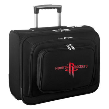 Houston Rockets Carry-On Rolling Laptop Bag - Black - http://www.shareasale.com/m-pr.cfm?merchantID=7124&userID=1042934&productID=540320823 / Houston Rockets