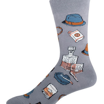Socksmith Mens Vintage Fellow Crew Length Socks