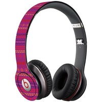 Purple Tribal Decal Skin for Beats Solo HD Headphones by Dr. Dre