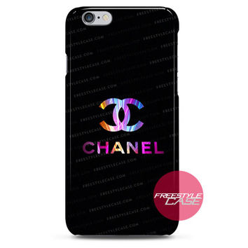 Chanel Pastel Logo iPhone Case 3, 4, 5, 6 Cover