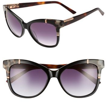 Ted Baker London 55mm Square Cat Eye Sunglasses | Nordstrom