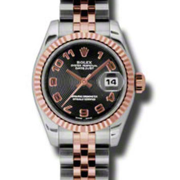 Rolex - Datejust Lady 26 - Steel and Pink Gold - Fluted Bezel