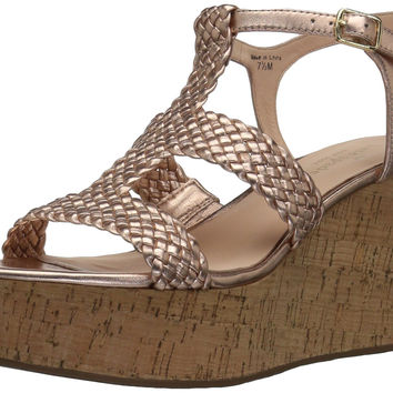 kate spade new york Women's Tianna Wedge Sandal Rose Gold 8.5 B(M) US '