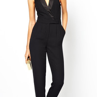 Jumpsuit-Alexa Black Jumpsuit