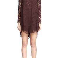 Adam Lippes Lace Trapeze Dress | Nordstrom