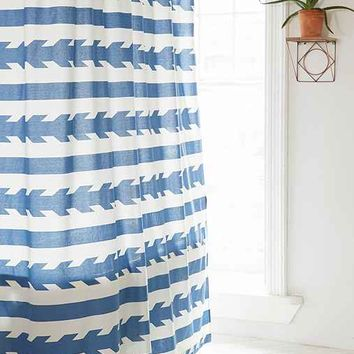 4040 Locust Washed Arrows Shower Curtain