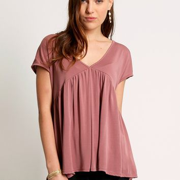 Roses For You Pleated Top | Ruche
