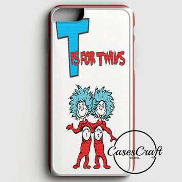 Thing 1 And Thing 2 iPhone 6 Plus/6S Plus Case | casescraft
