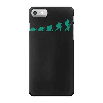 evolution of turtles iPhone 7 Case