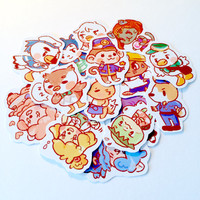 Animal Crossing New Leaf Stickers
