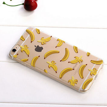 Banana Case TPU Cover for iphone 7 7 Plus & iphone 6 6s Plus & iphone se 5s + Gift Box