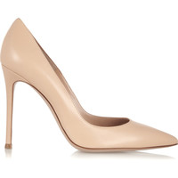 Gianvito Rossi - 105 leather pumps