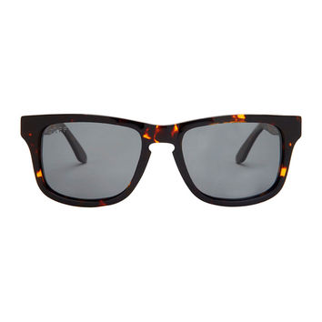 RILEY - TORTOISE FRAME - GREY POLARIZED LENS