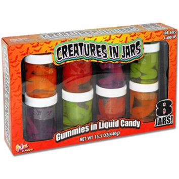 Walmart: Flix Candy Creatures in Jars, 8 count