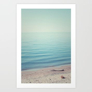 The Calm Art Print by Faded  Photos