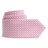 Boy's Report Collection Dot Print Cotton Tie