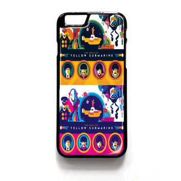 Yellow Submarine Color 2 iPhone 4 4S 5 5S 5C 6 6 Plus , iPod 4 5  , Samsung Galaxy S3 S4 S5 Note 3 Note 4 , and HTC One X M7 M8 Case