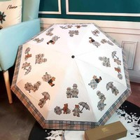 DCCK BURBERRY Fashion Folding Umbrella
