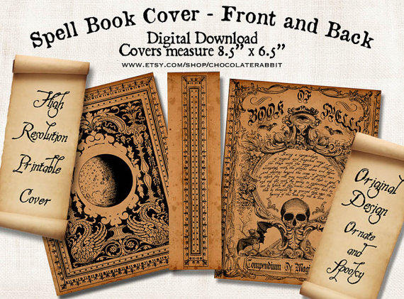 This is a graphic of Printable Book Covers with full