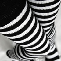 Super Stripes ~ Longer - Sock Dreams - Unique Colorful Socks