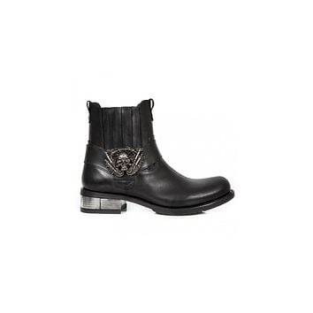 Newrock - M-GY35-S3 Ankle Boot Biker Boots