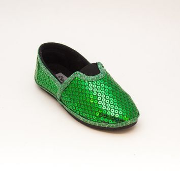 Select Your Color of Kids Alpargata Sequin Shoes
