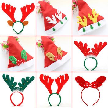 Christmas Hat   Santa Hat headdress Christmas decorations gifts Elk antlers