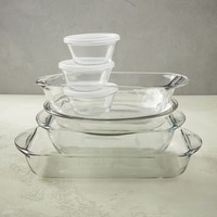 Anchor Hocking 10-Piece Glass Bakeware Set