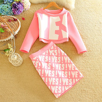 Enthusiastic Consent YES Skirt Set
