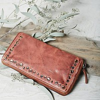 Free People Tuscano Leather Wallet