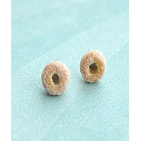 Sugar Donuts Stud Earrings