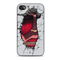 Hidden Titan Attack On Titan Anime  for iPhone cases