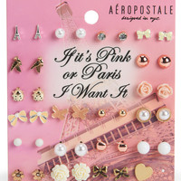 Aeropostale  Paris Stud Earring 20-Pack