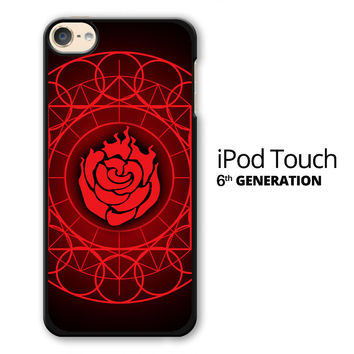 Ruby Rose Symbol RWBY iPod Touch 6 Case