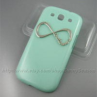 samsung galaxy S3 case,Mint Green One Direction samsung galaxy S3 Case,Infinity Forever samsung i9300 Hard Case