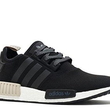 AdidasMen's ORIGINALS NMD_R1 SHOES All Black/White  adidas shoes nmd