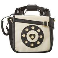 Betsey Johnson Ring Me Crossbody Black - Zappos.com Free Shipping BOTH Ways