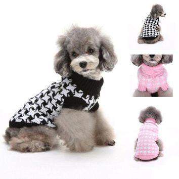 DCCKU7Q Pet Dog Winter Warm Clothes Winter Cat dog clothes Jacket Sweaters pet product Small Big Pet Puppy abbigliamento cani