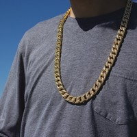 Iced Out Miami Cuban Link Chain (14mm)
