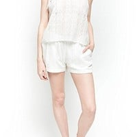 Womens Fashion Romper Elegant White Cotton Hippie Jumpsuit Dress: Amazon.ca: Clothing & Accessories